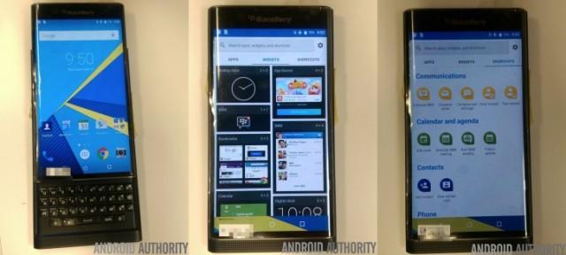 Harga dan Spesifikasi BlackBerry Priv, Hp BB OS Android