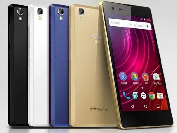 Harga dan Spesifikasi Infinix Hot 2 Android One HP RAM 2Gb