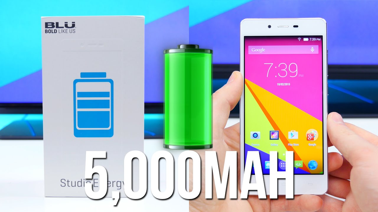 Harga BLU Studio Energy 2, Spesifikasi Baterai 5.000mAh