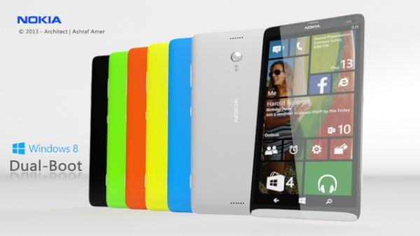 Harga Nokia Power Ranger, Spesifikasi Dual OS Android WP8