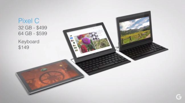 Harga dan Spesifikasi Tablet Google Pixel C