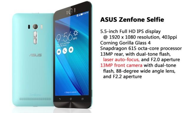 Spesifikasi Asus Zenfone Selfie